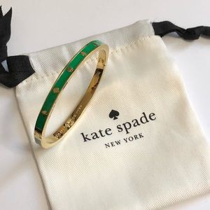 Kate Spade emerald bangle
